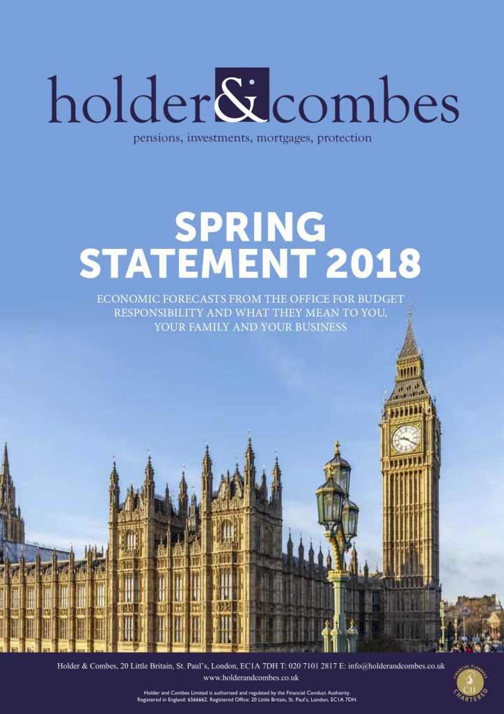 Latest Newsletter - Spring Statement 2018